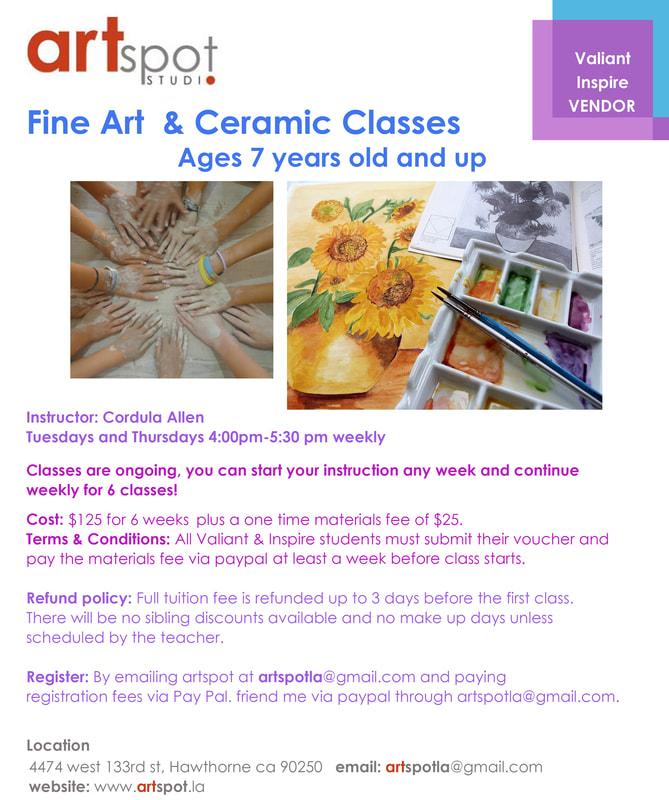 Art Class Weekly Classes